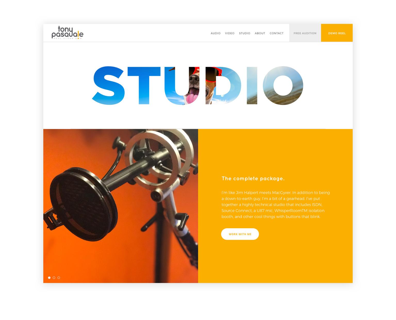 tony pasquale studio page