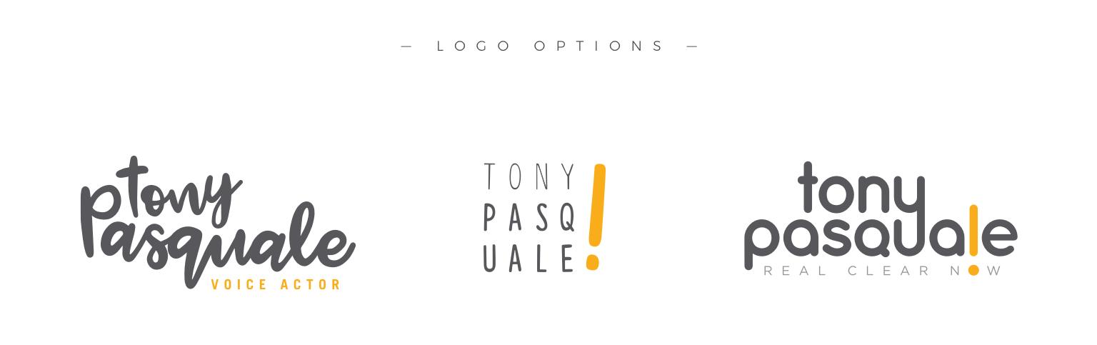 tony pasquale logo options